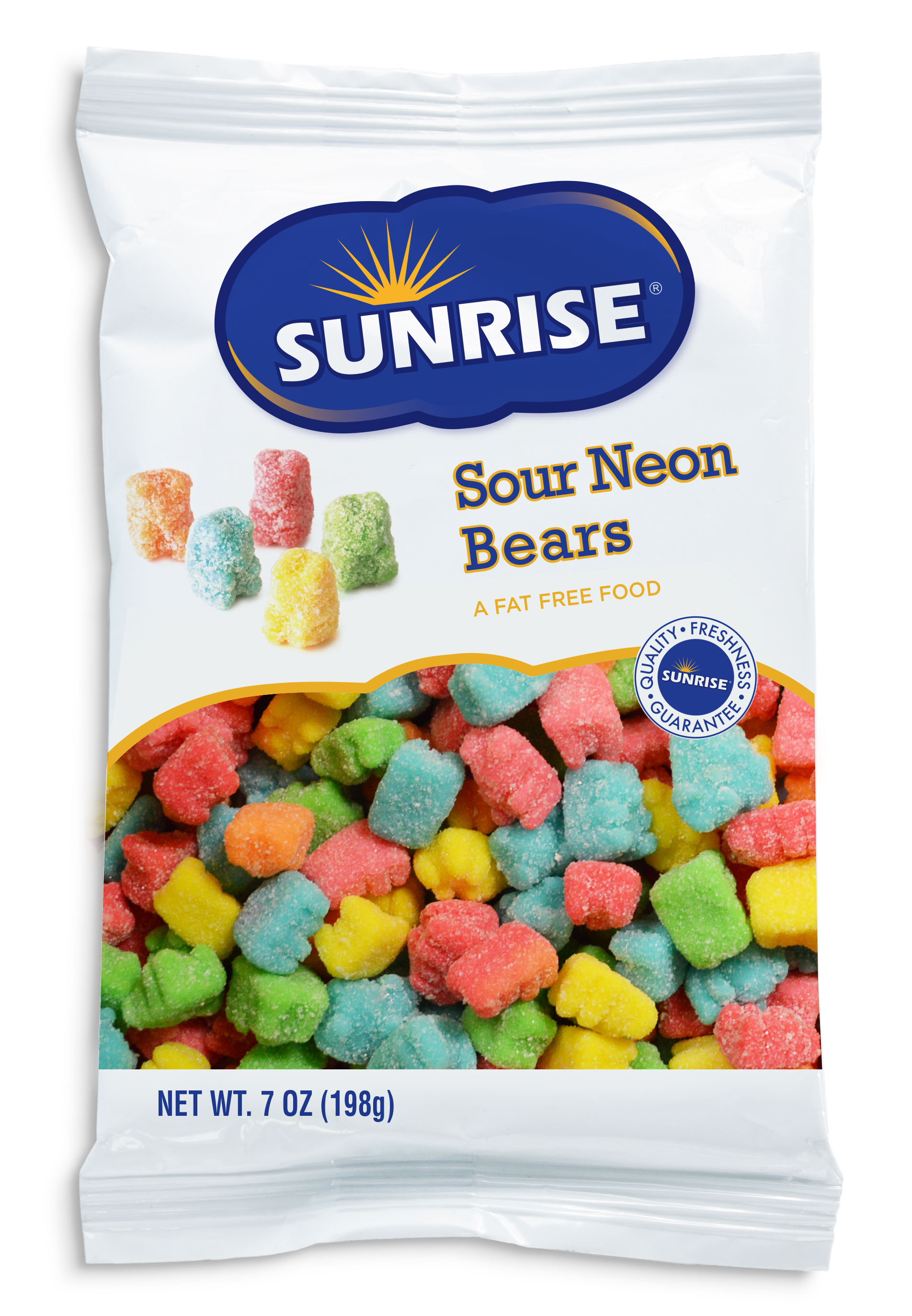 Bag of Sour Neon Gummi Bears